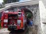 Požár chaty v Zadní Třebani 9-2019