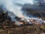 Požár pole ve Všeradicích 7-2018
