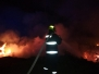 Požár větví Nesvačily 10-2018